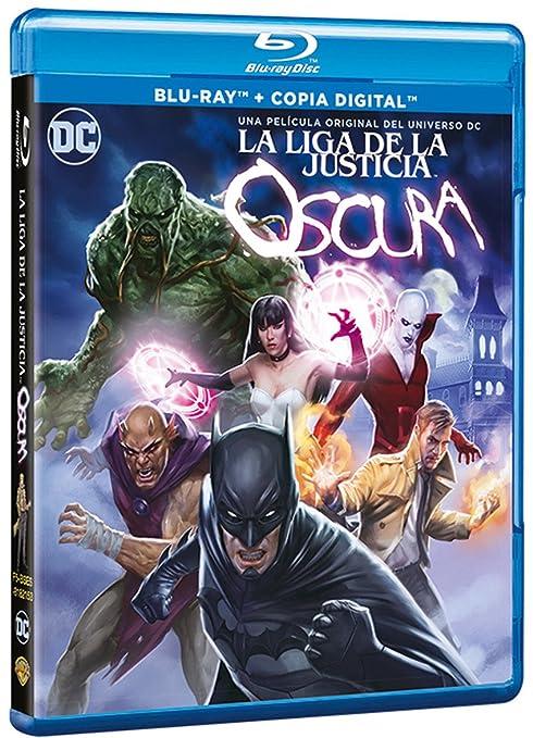 La Liga De La Justicia Oscura Blu-Ray [Blu-ray]: Amazon.es ...