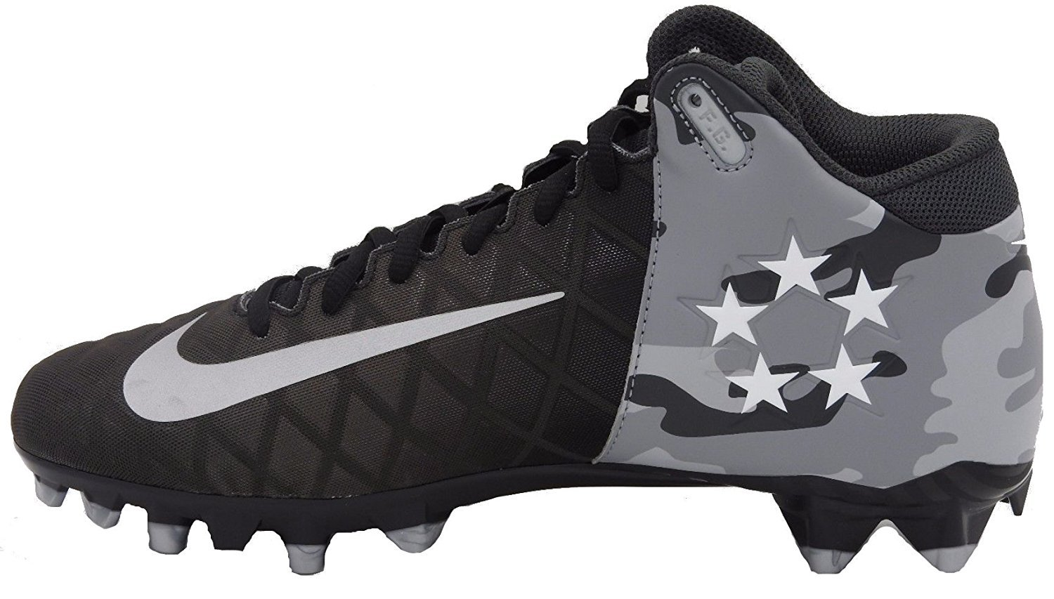 Nike Field General Pro TD Mens Football Cleats 11.5 Black / Camo by NIKE