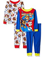 Nickelodeon Paw Patrol Boys 4 Piece Pajamas Set