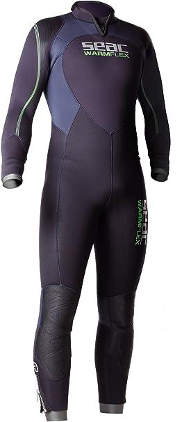 Amazon.com: Seac de los hombres warmflex 5-mm traje de buceo ...