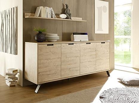 Credenza Moderna In Legno : Zenzero shop credenza moderna madia di design ante legno