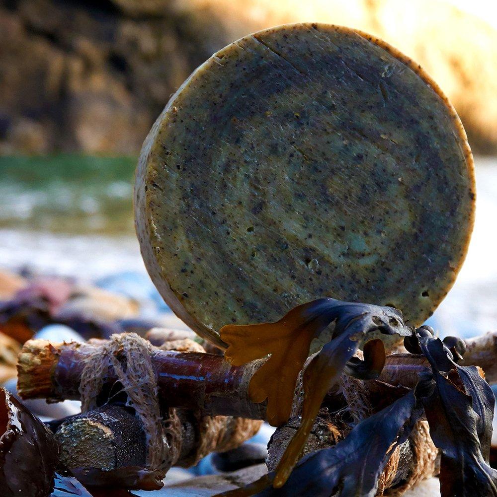 Seaweed and Black Pepper Soap with Eucalyptus (vegan)