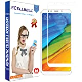 CELLBELL EGDE-to-Edge Full Glue Tempered Glass Screen Protector with Free Installation Kit for Xiaomi Redmi 5 (White)