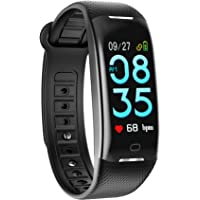 SMBOX Fitness Tracker, Smart Bracelet Activity Tracker Watch With Sleep Monitor,Step Counter,Calorie Counter,Call/Message Reminder,Waterproof Pedometer Watch Smart Wristband for Kids Men Women