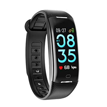 Mini Kitty Black Fitness Tracker Bracelet Waterproof Smart Wristbands For Men Women Boys Girls iOS Android Smartphone