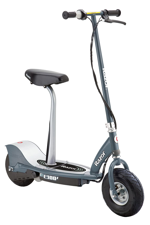 Razor E300S Scooter eléctrico 24 V con la extensión del Asiento – Gris
