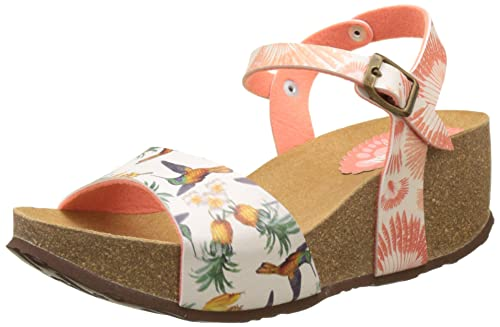 49125de7 Desigual Bio7 Colibri Tropical, Sandalias con Cuñas para Mujer, Multicolor  (Red 7019), 7 UK/ 41 EU: Amazon.es: Zapatos y complementos