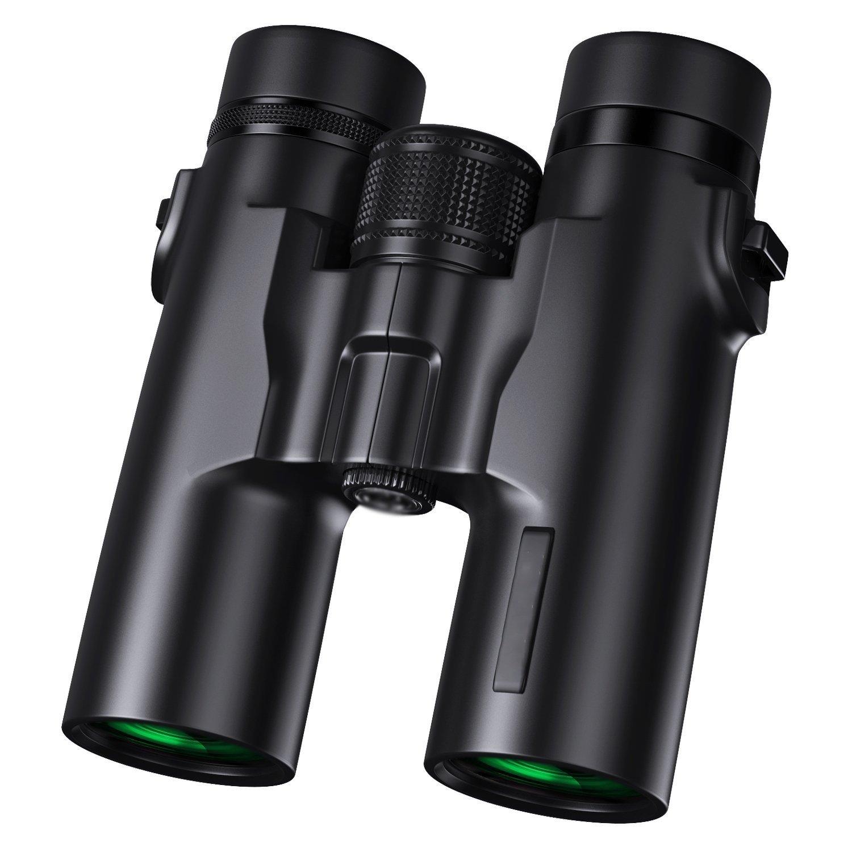 10x42双眼鏡Soo II高精細低照度ナイトビジョンプロフェッショナルHDコンパクト防水と防曇双眼鏡 B07FKK2FMW