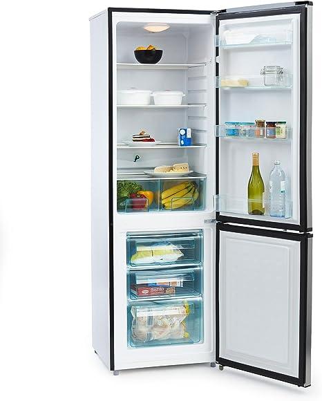 KLARSTEIN Big Mommy Cool Nevera con congelador (Combi refrigerador ...