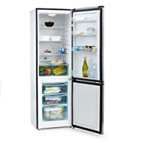Klarstein Big Mommy Cool Réfrigérateur congélateur (300 L, 205k Wh/an, classe énergétique A ++, 4 étagères, 3 tiroirs de congélation, 2 portes avec poignées)