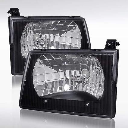 Right Passenger Side Headlight for 1997-2007 FORD ECONOLINE VAN E150 E250 E350
