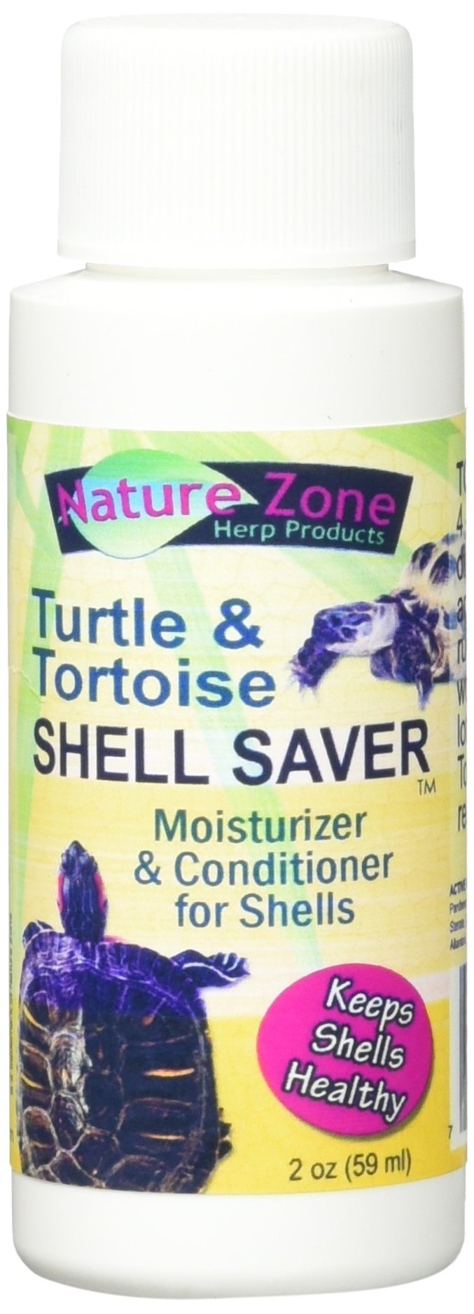Nature Zone SNZ59261 Turtle Shell Saver Moisturizer/Conditioner, 2-Ounce