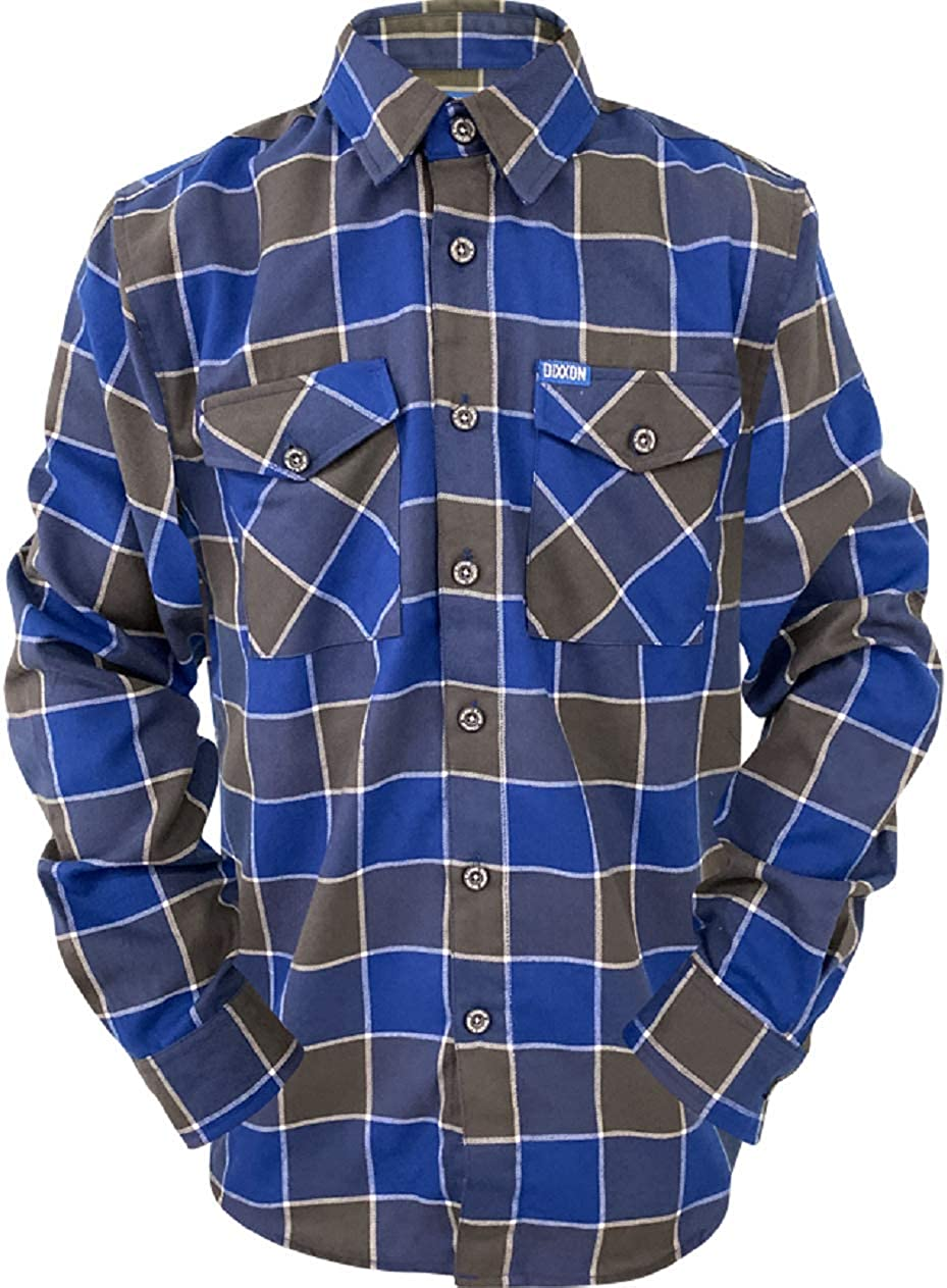 Layback Docs Motorcycle Parts DIXXON Flannel Shirt