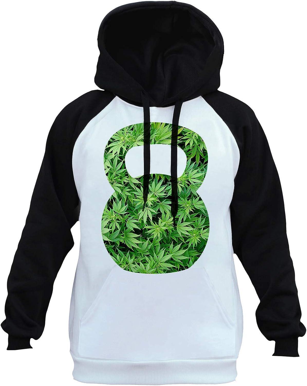 Mens Galaxy Kettlebell B1431 PLY Raglan Sweatshirt
