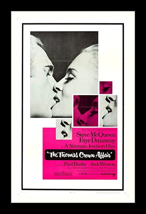 The Best Thomas Crown Affair Movie Poster 11X17
