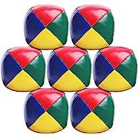 Elcoho 7 Pack Beginners Juggling Balls Bolas