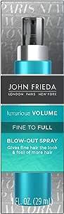 John Frieda Volume Lift Fine to Full Blow Out Spray, 4 Ounce
