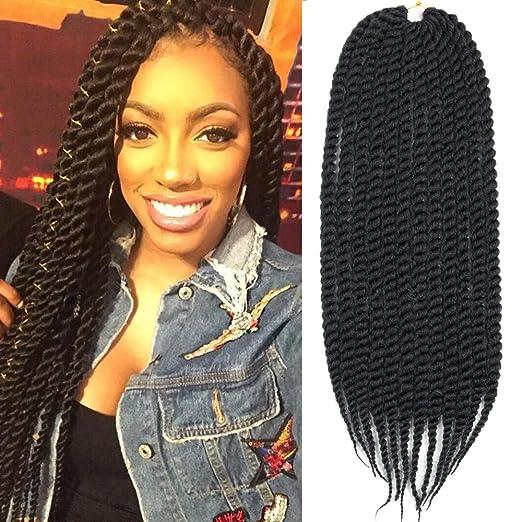 Amazoncom Mirras Mirror 6packs 22 Havana Twist Crochet Hair