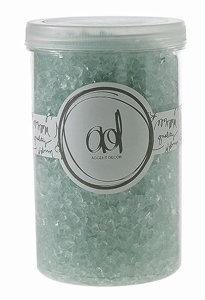Amazon Crushed Glass 2 4mm 46 Oz Lt Blue Vase Filler Home