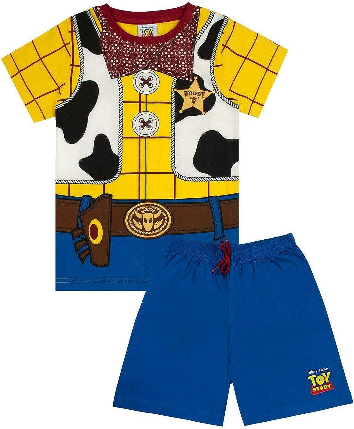 Toy Story Niños Corto Pijama de Disney Pixar Woody Traje de Niño ...