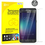 Galaxy Note 5 Screen Protector, JETech 2-Pack JETech Premium Tempered Glass Screen Protector Film for Samsung Galaxy Note 5