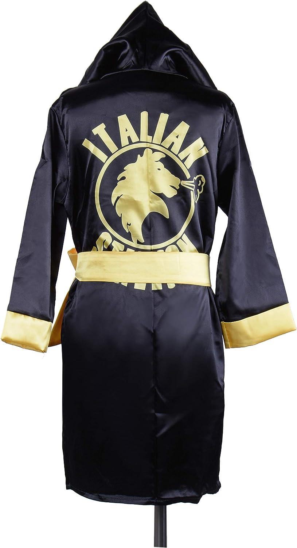 Kids Rocky Balboa Movie Boxing Costume Shorts American Flag//Italian stallion