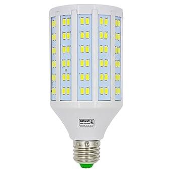 MENGS® Bombillas LED Lampe E27 25W AC 85-265V Blanco frío 6500K 180x5730 SMD