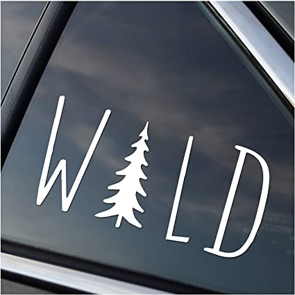 Mountain Bison Landscape Hiking Camping Sticker Vinyl Decal Wall ...
