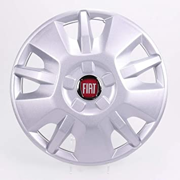 Hubcap 15inch Rim Red Emblem Fiat Ducato Type 250from 2014 onwards