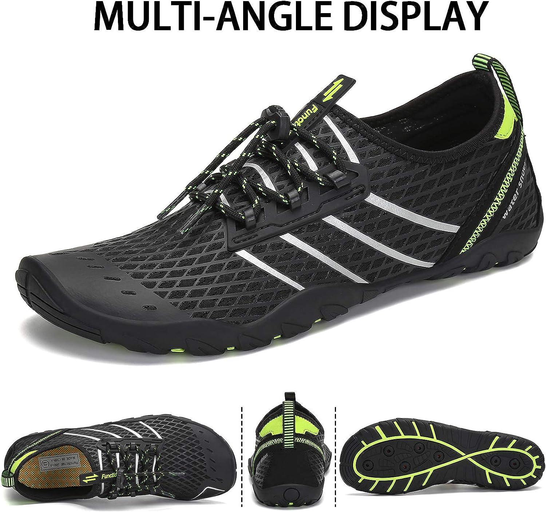 Water Shoes for Women Men Quick Dry Aqua Socks Swim Barefoot Beach Swim Surf