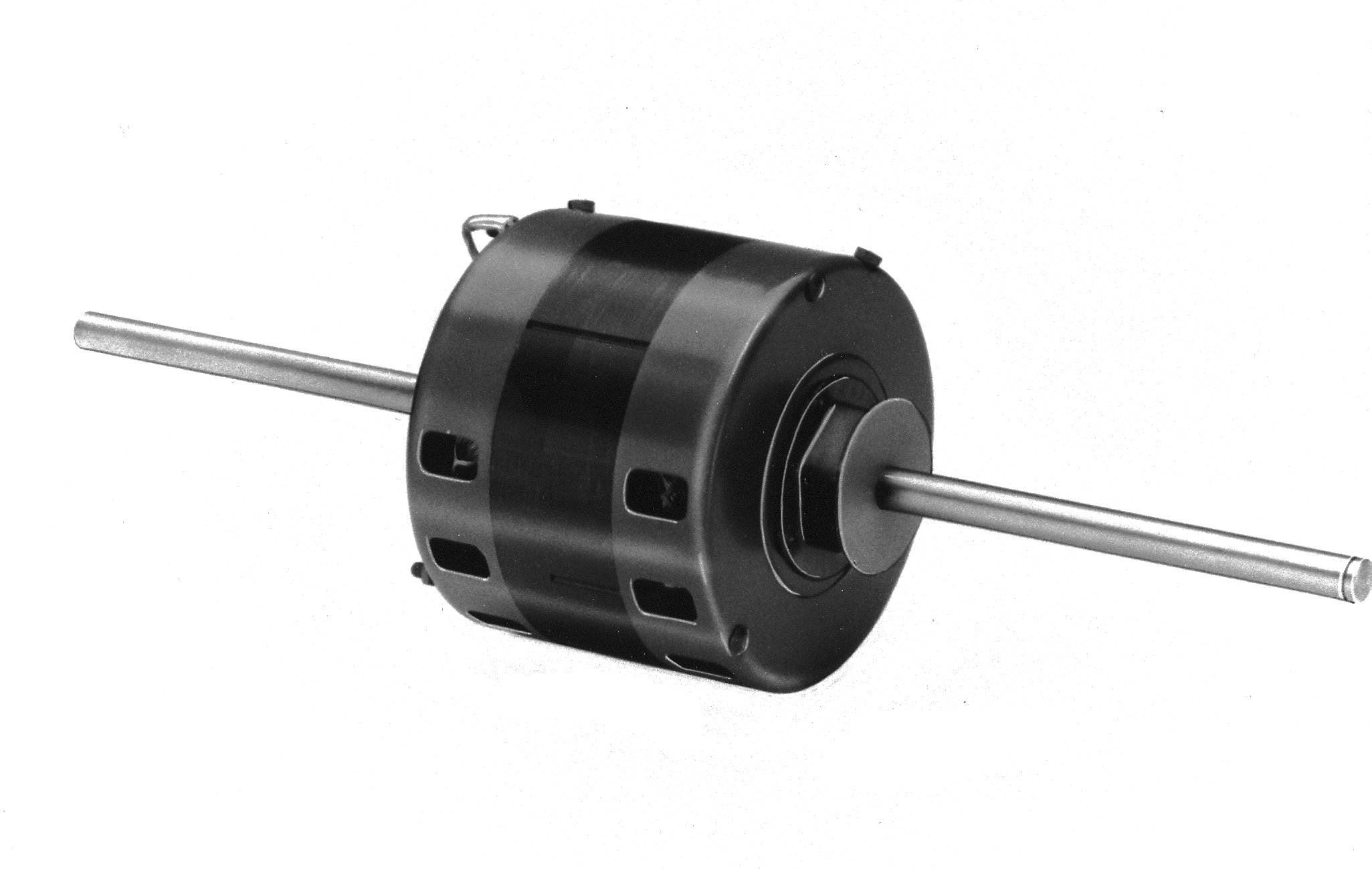 Fasco D1042 5'' Frame Permanent Split Capacitor York Open Ventilated OEM Replacement Motor with Sleeve Bearing, 1/5HP, 1075rpm, 208-230V, 60 Hz, 1.2amps
