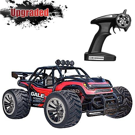 Vatos Coche control remoto 1:16 escala, RC coche 2.4G, 2WD juguete
