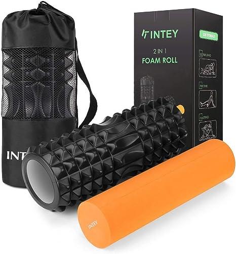 Orange Medium Foam Roller Deluxe Yoga Accessory
