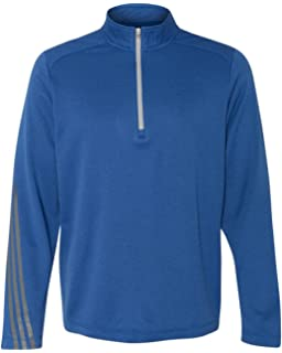 adidas quarter zip. adidas - golf brushed terry heather quarter-zip jacket a274 quarter zip l