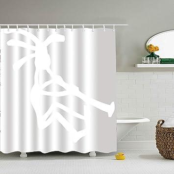 Farm House Decor Shower CurtainMusic Fabric Bathroom Set With Hooks Multi