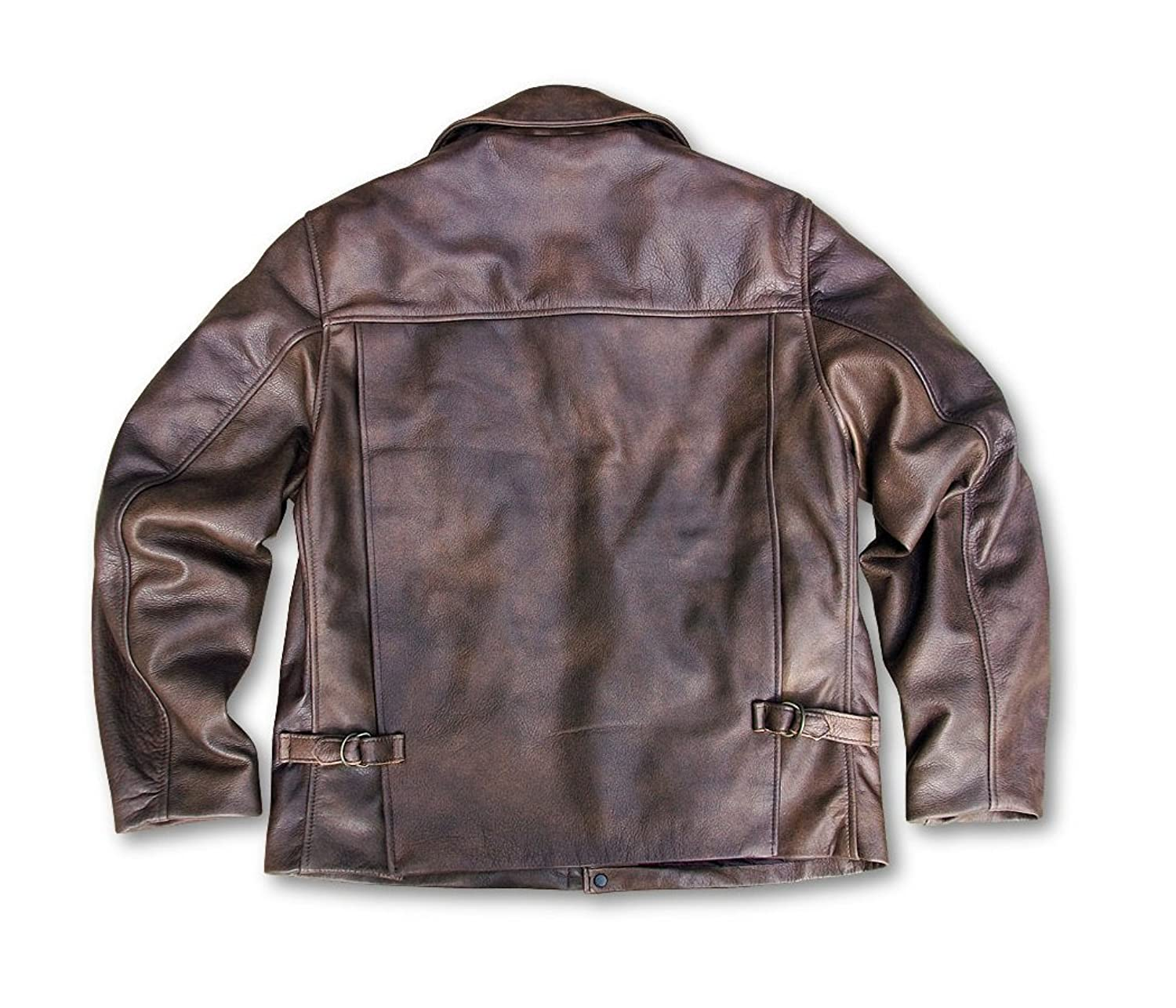for wilsons brown rug leather lyst gallery in clothing distressed men rugged lamb jacket