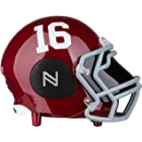 Nima Athletics Portable Bluetooth Speaker, [Officially Licensed by NCAA] NCAA College Football Helmet Stereo Speaker with Built-in-Mic, AUX, Built-in-Subwoofer, HD Sound and Bass