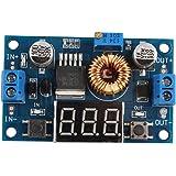 HALJIA Konverter 5A 75W XL4015 DC-DC, verstellbares Abwärtsmodul 4,0 - 38 V bis 1,25 - 36 V, DIY Bastler-Netzteil für Arduino Raspberry Pi