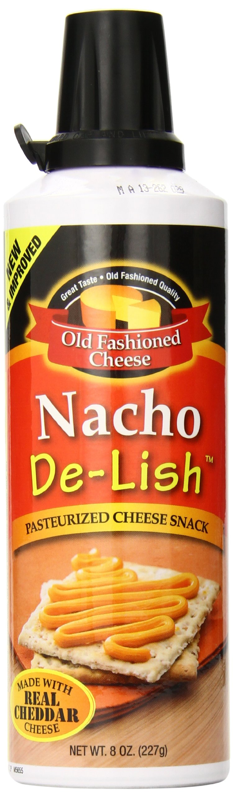 Old Fashioned Cheese Nacho De Lish Cheese Spread, 8 Ounce