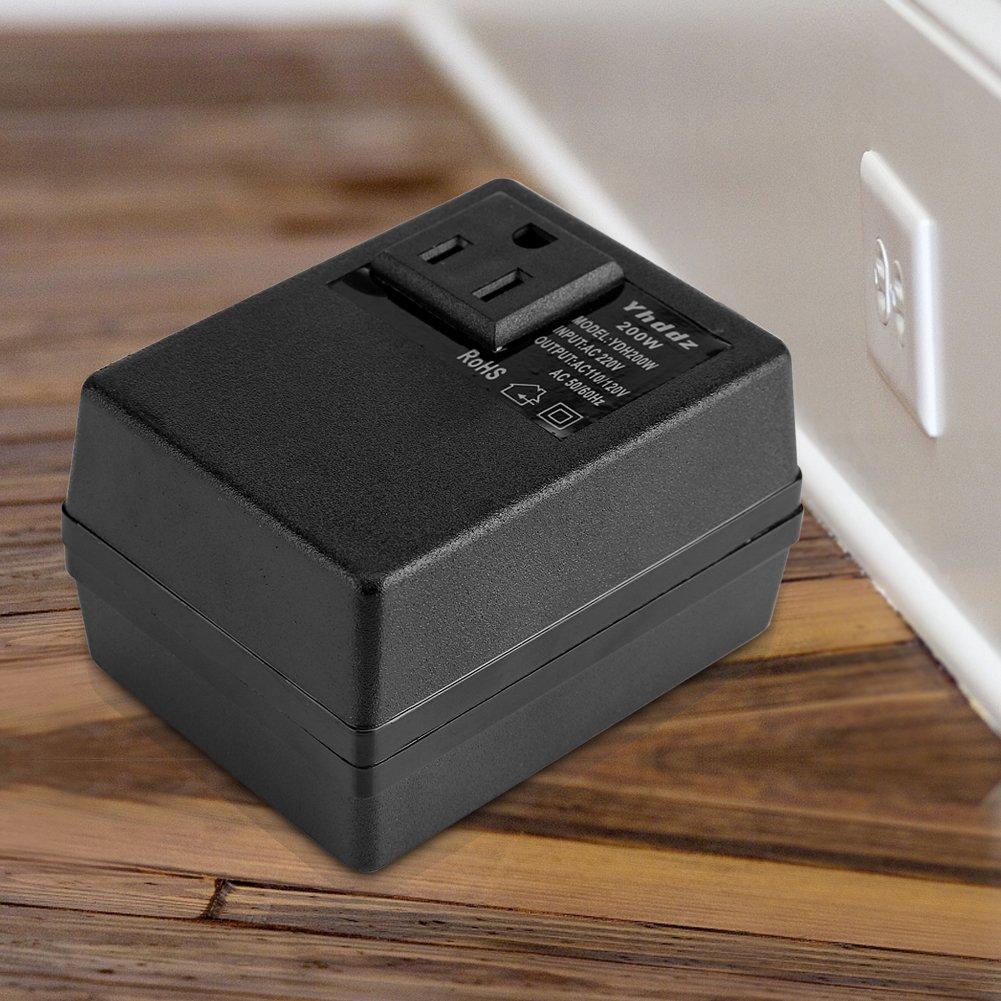 Massimo 140 Watt Abbassare da 220 V a 110 V Trasformatore Automatico Travel Adapter Internazionale per Laptop Macchine Fotografiche Cellulari iPads Convertitore di Tensione