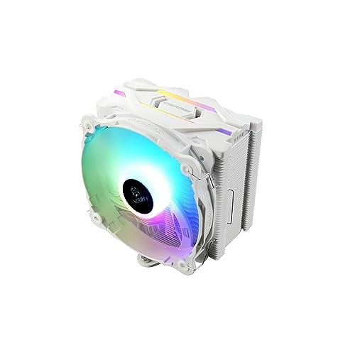 静かに冷やすサイドフロータイプのCPUクーラー ENERMAX ETS-F40-W-ARGB