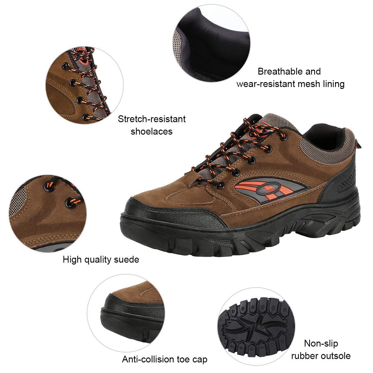 Zapatillas de Senderismo para Escalada Antideslizantes Transpirables Padgene Senderismo Impermeables al Aire Libre