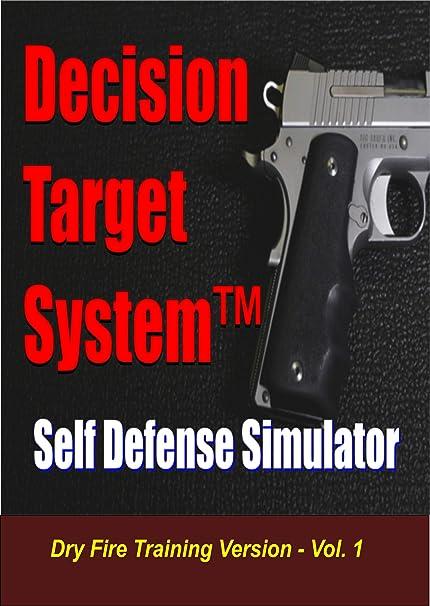 Amazon Com Decision Target System Dry Fire Training Simulator Scenario Based Reaction Training Sports Outdoors