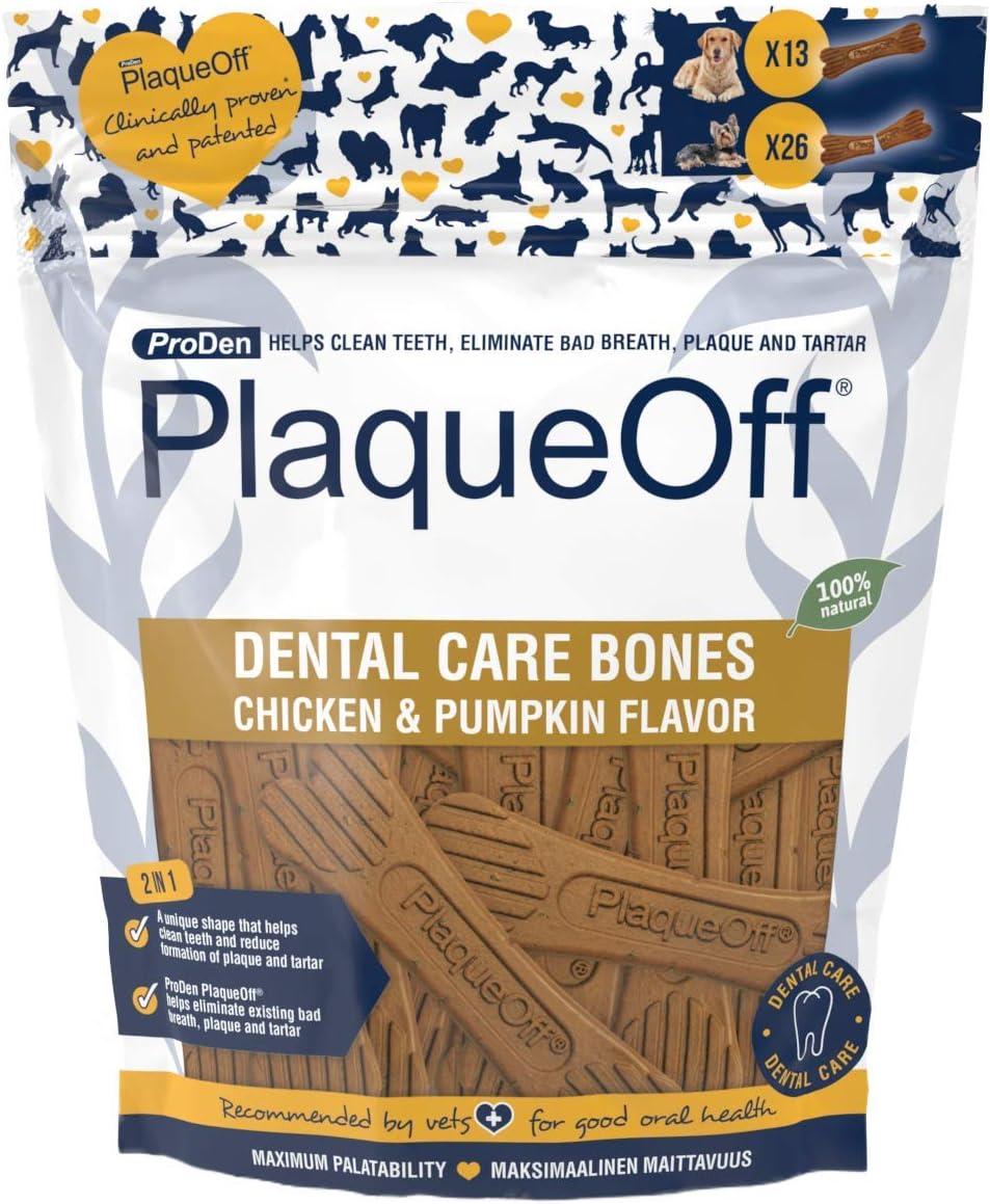 Proden Plaqueoff Fpxxxx Dental Bones Chicken&Pumpkin
