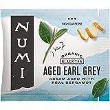Numi Organic Tea Aged Earl Grey, 100 Count Box of Tea Bags, Black Tea (Packaging May Vary)