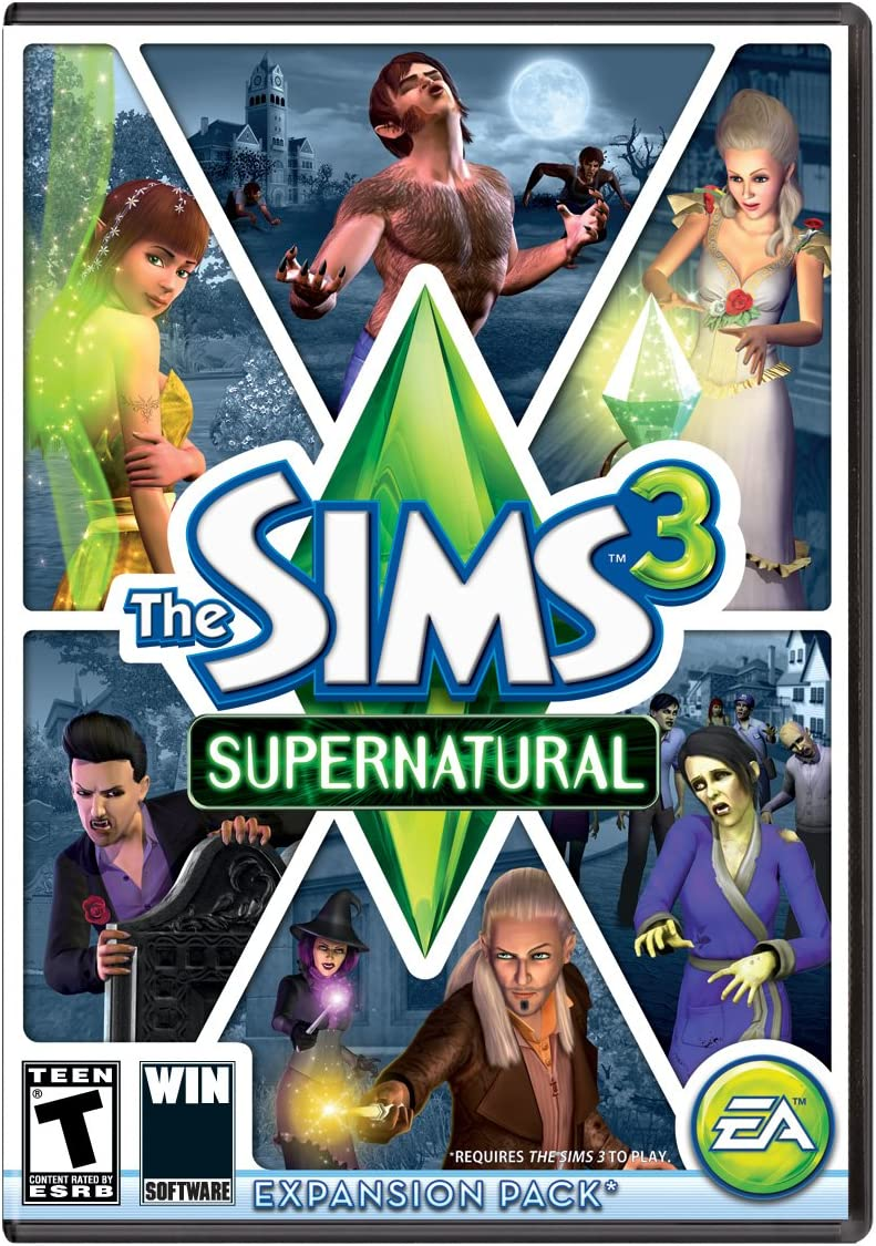 Amazon com: The Sims 3 Supernatural [Download]: Video Games