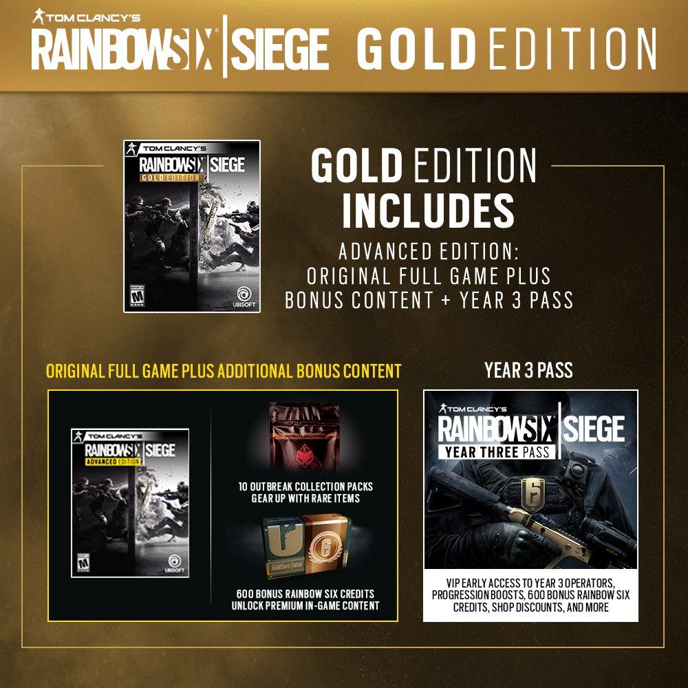 Tom Clancy's Rainbow Six Siege - PC: Amazon ae: Western Shipments