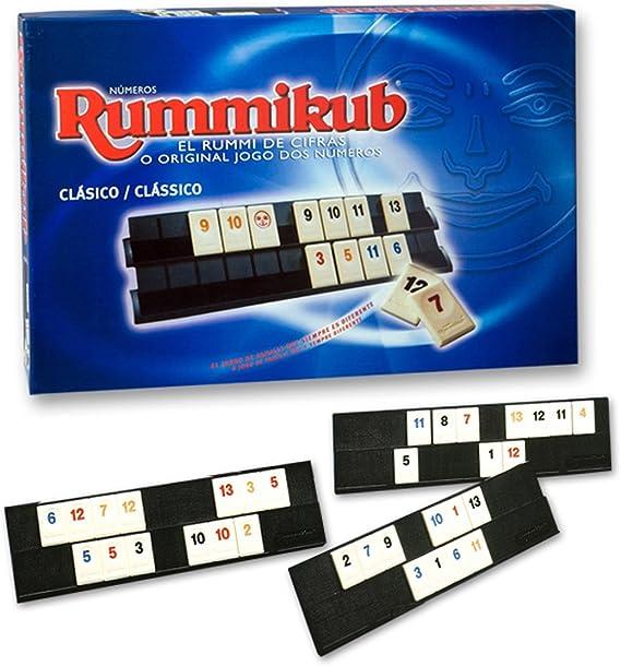 Hasbro Juegos en Familia Rummikub 13201175: Amazon.es: Juguetes y juegos