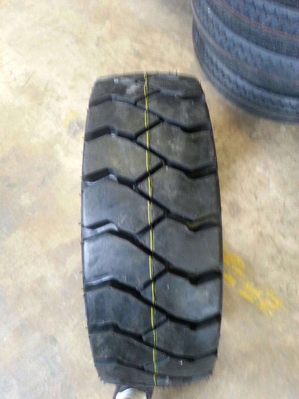 TWO BRAND NEW 8.15-15 FORKLIFT 12 PR TIRES WITH TUBES 8.15x15 815x15 815-15