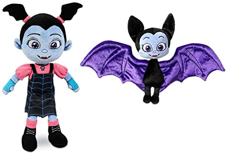 Amazon Com Disney Junior Vampirina 13 1 2 Inch Girl Plush Vee Doll